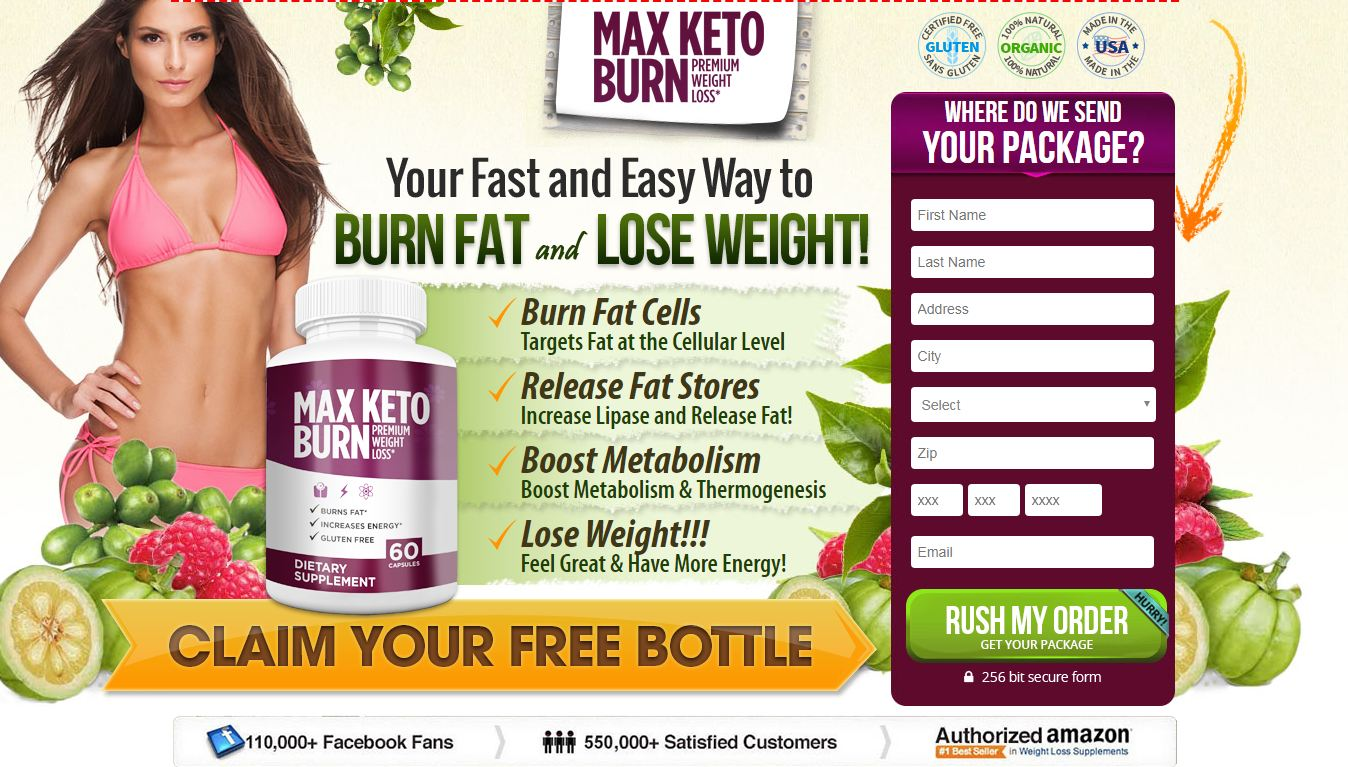 Max Keto Burn Review (Updated 2018) Ingredients, Benefits, Where to Buy?