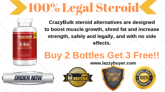 CrazyBulk D-Bal (Dianabol) Review: Benefits, Cost, Suggested Uses, Where To Buy?