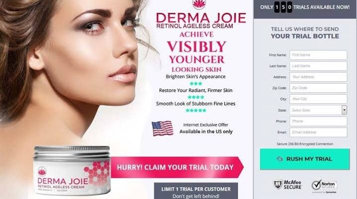 Derma Joie Cream Review: Free Trial | Does It Works?
